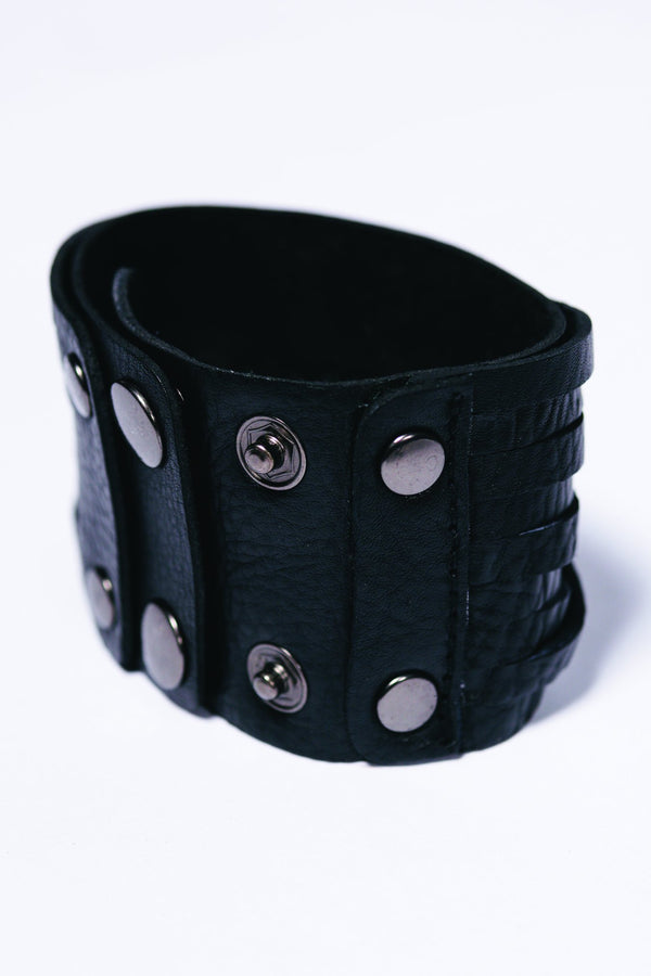 Men Leather Vivere Bracelet