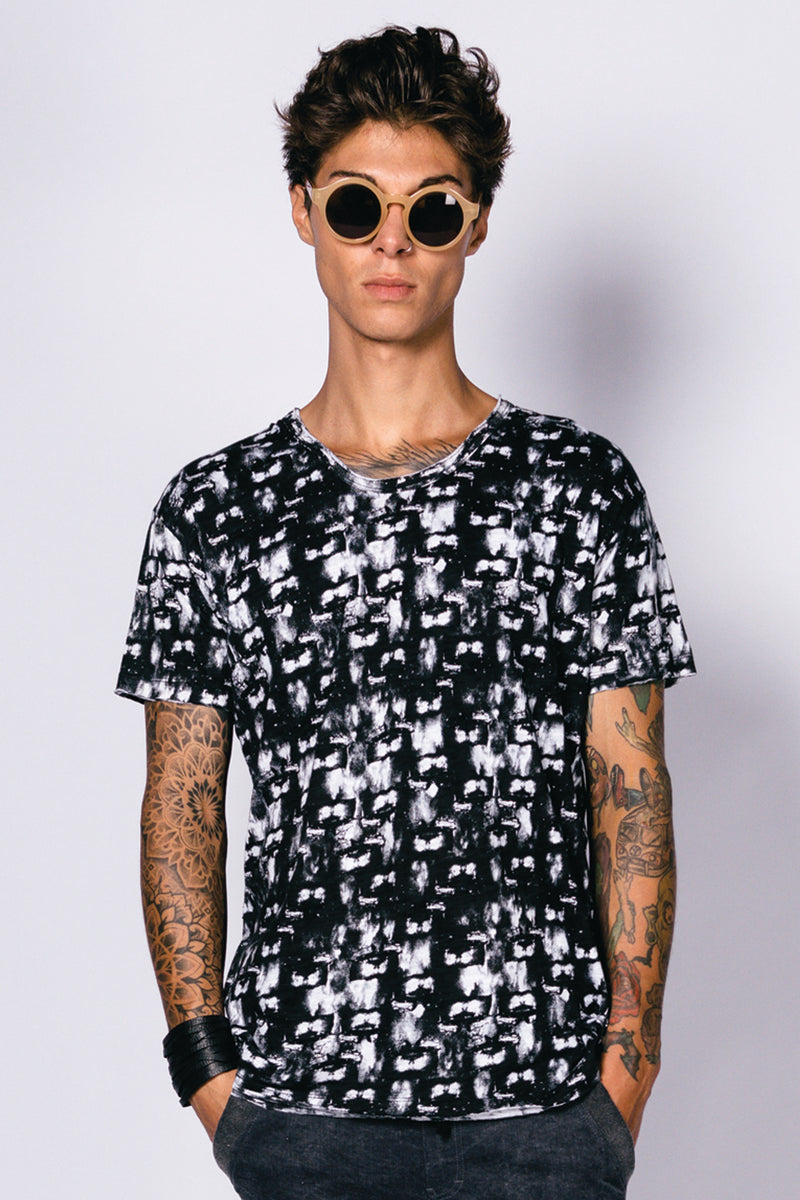 Printed Cotton Men Easy T-Shirt
