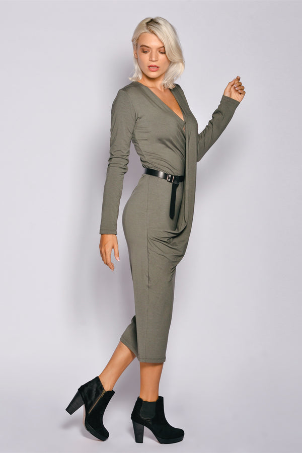 Women Long Sleeve Andrea Long Dress