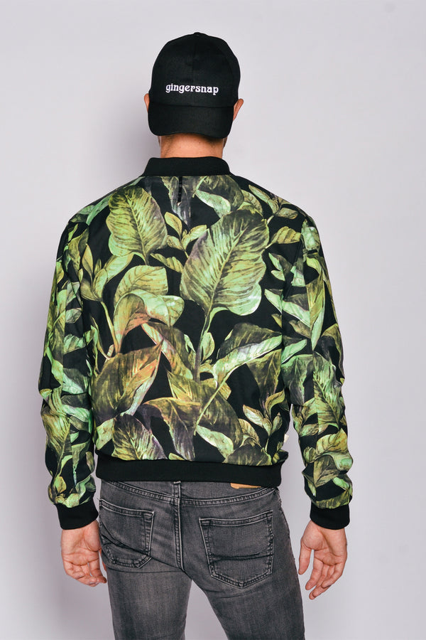 Iced wash print Men Bomber Oasis Jacket