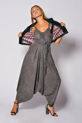 Washed Out Women Hareem Women Playsuit Sikim Sarouel