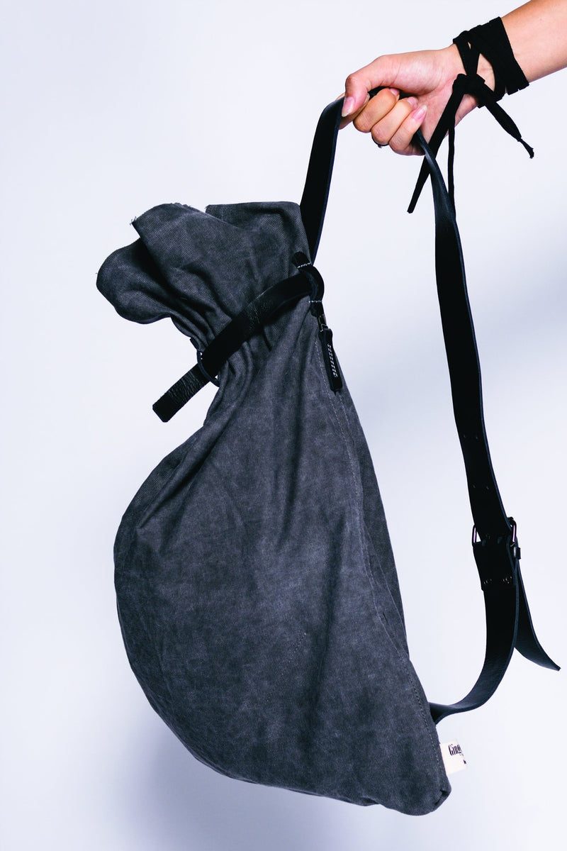 Women Washed Out Cotton Canvas Taroma Bag