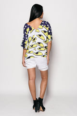 Women Printed Stefi Top