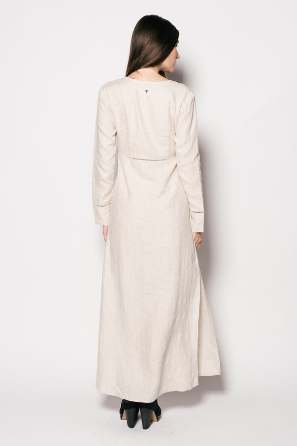 Pure Linen Bagatelle Long Dress
