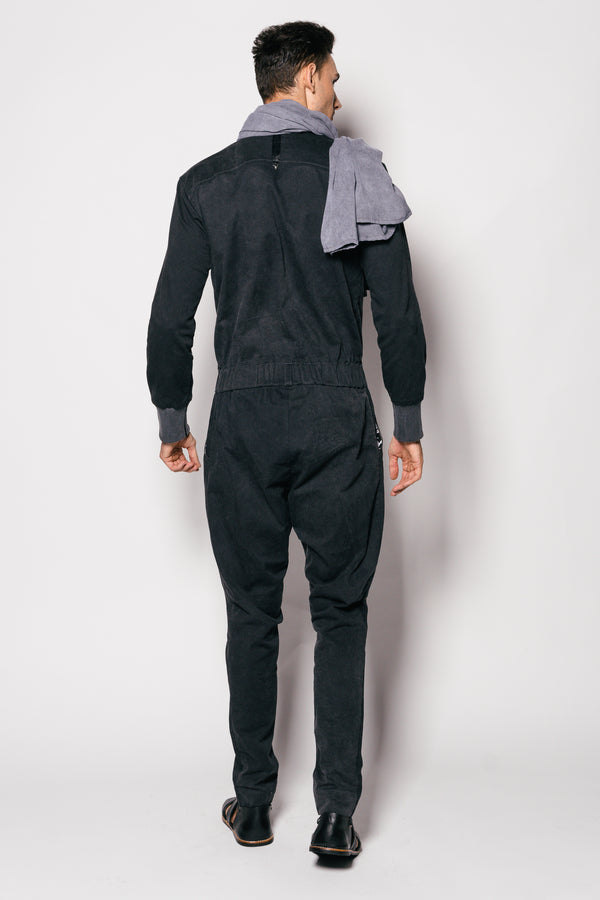 Washed Out Cotton Coverall Kokyu Jumpsuit