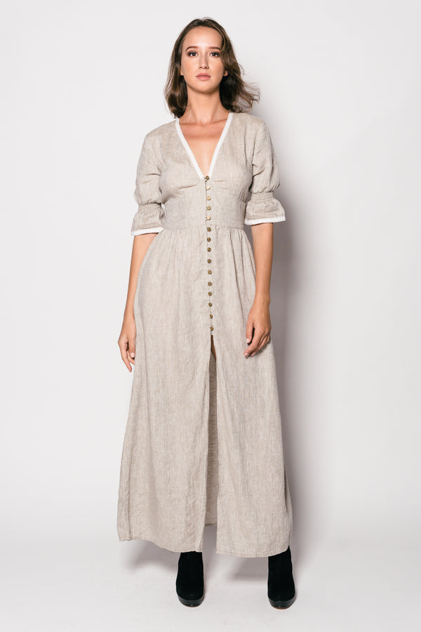 Pure Linen Noana Long Dress