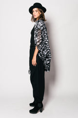 Printed Cotton Isao Vest