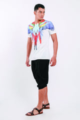Printed Cotton Men BBK T-shirt