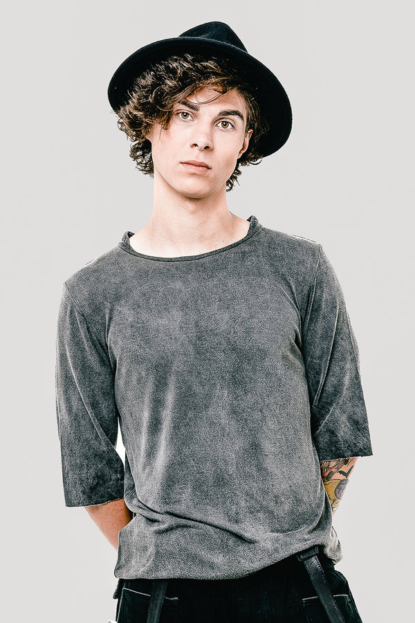 Washed out Cotton Darwin Men t-shirt