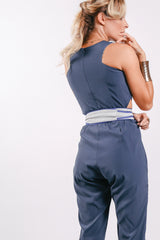 Women Slim Cut Agra Jumpsuit