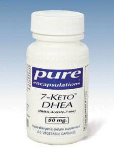 7-KETO DHEA 50 mg  60 capsules by Pure Encapsulations