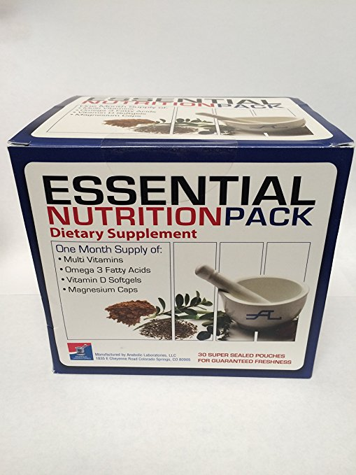 Essential Nutrition Pack - 30 Multi-packs by Anabolic Laboratories