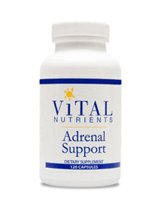 Adrenal Support 120 Capsules by Vital Nutrients