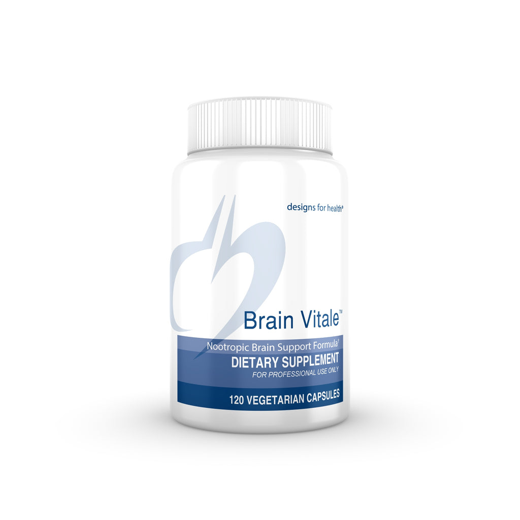 Brain Vitale by Designs for Health, 120 vegetarian capsules