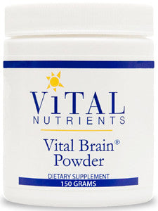Vital Brain Powder 150g by Vital Nutrients