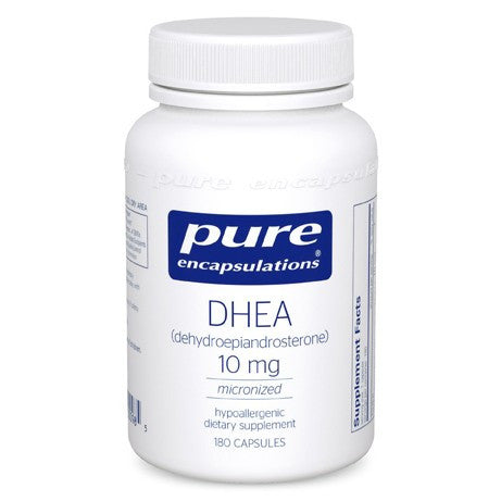 DHEA 10 mg 60 capsules by Pure Encapsulations