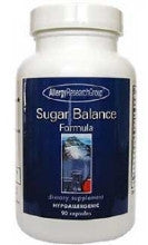 Sugar Balance Formula 90 Capsles by Allergy Research Group