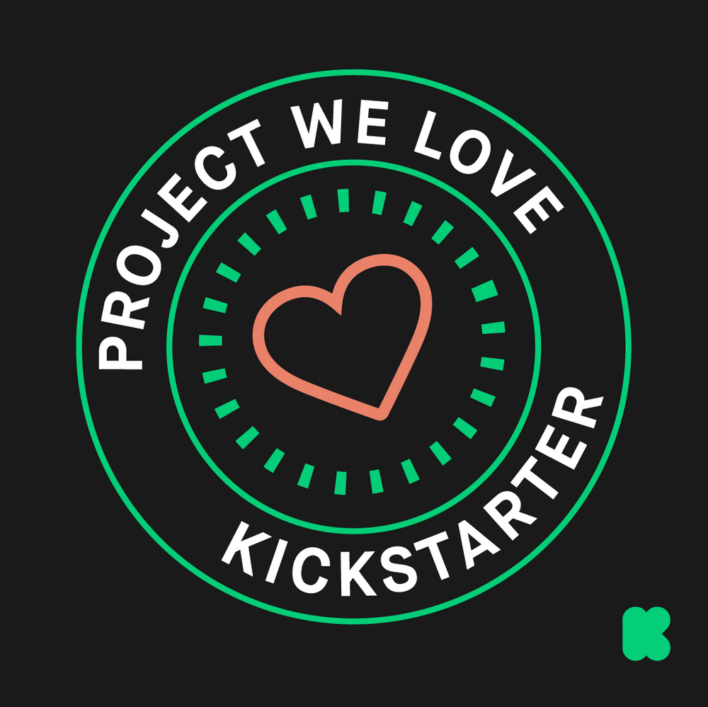 Kickstarter Projects We Love Badge