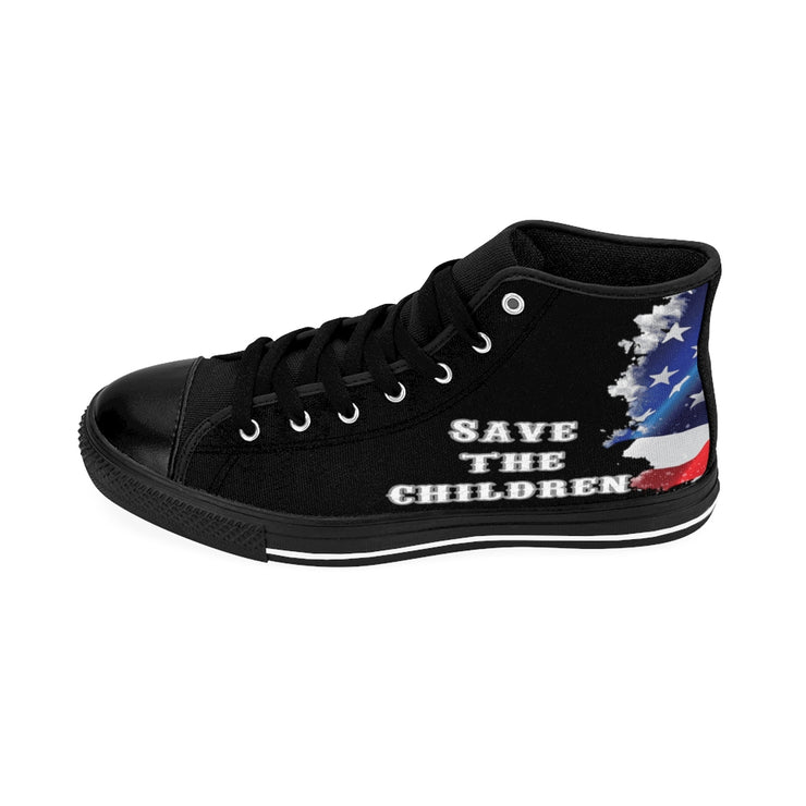 Save The Children High-top Sneakers/ Men's Size