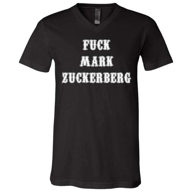 Mark Zuckerberg V-Neck T-Shirt