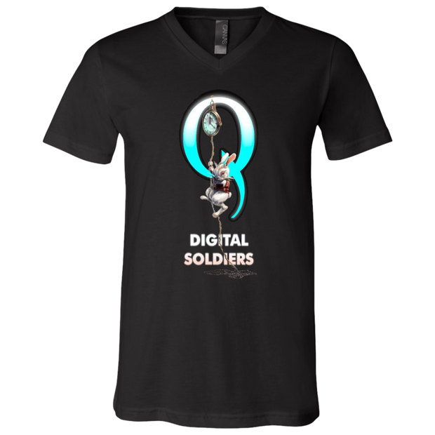 Digital Solders V-Neck T-Shirt