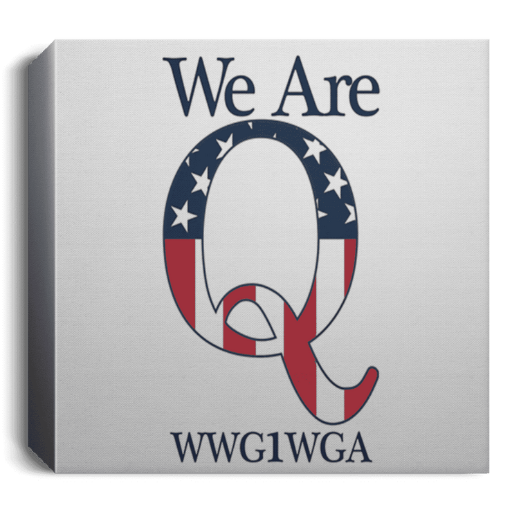 We Are Q Deluxe Square Canvas