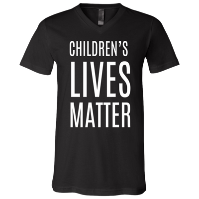 Children Lives Matter V-Neck T-Shirt