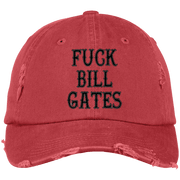 FBG Distressed Dad Cap