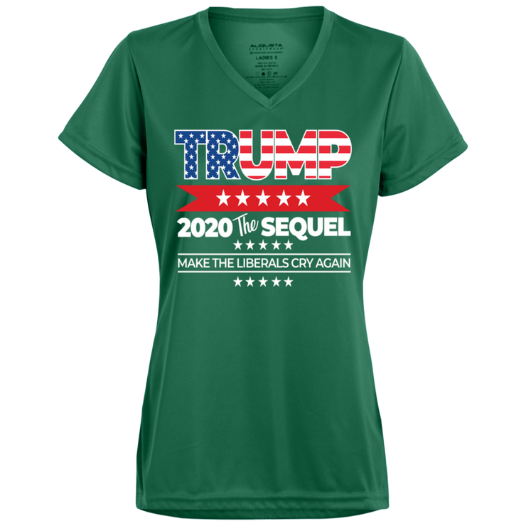Trump 2020 Ladies' V-neck T-Shirt