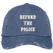 Refund The Police Distressed Dad Cap