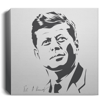 JFK Deluxe Square Canvas - [Qanon Society]