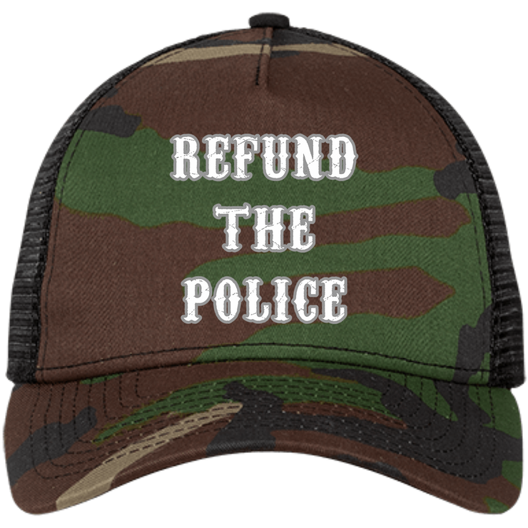 Refund The Police Snapback Trucker Cap