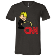 CNN V-Neck T-Shirt