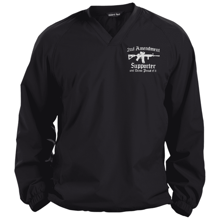 2ND Amendment Pullover V-Neck Windshirt