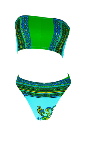 versace print swimsuits