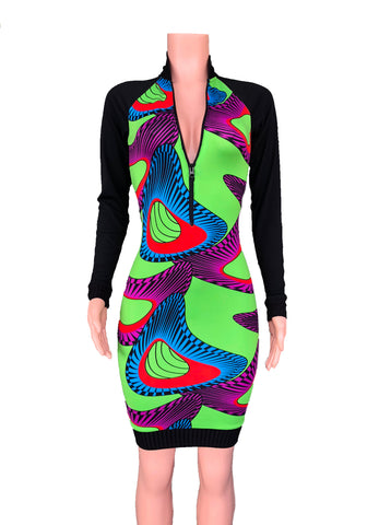 ANKARA bomber dress