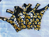 Golden Kisses reversible bikini