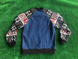 PHOENIX denim bomber jacket