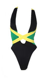 jamaican flag swimsuits