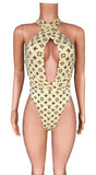 LV convertible high cut monokini
