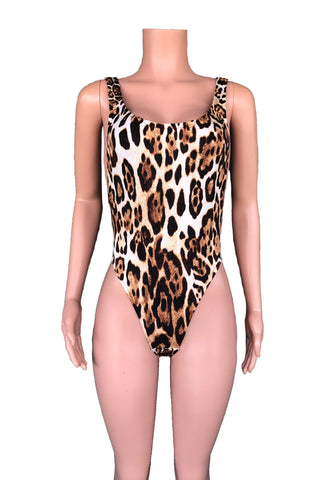 Lynx high cut side boob monokini