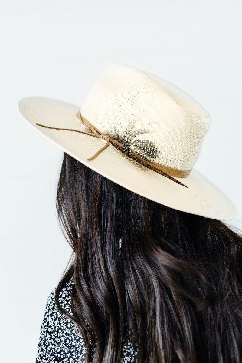 Valencia Hat in Ivory