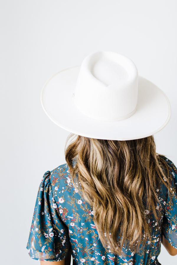 Milly Hat in White