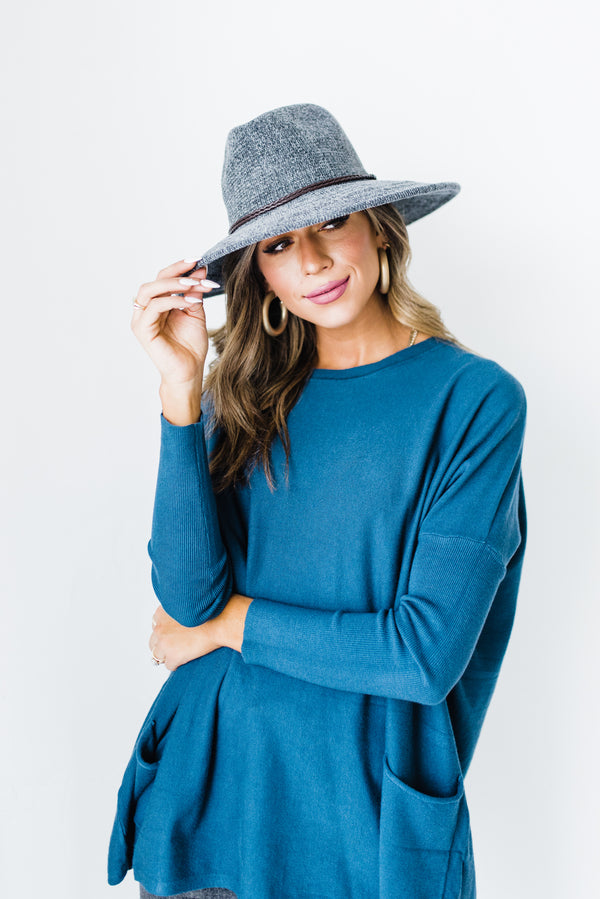 Colette Hat in Grey