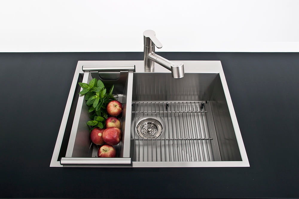 "Kitchen sink bottom grid UrbanEdge, J7, J18, Stainless Steel, 30"" x 16"""