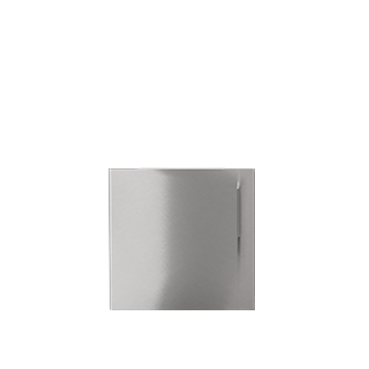 "Pure Built-in Access Single Door Mid-Height, Stainless Steel, 24""(W), Hinges Left"