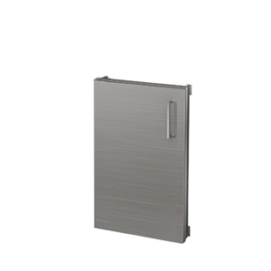 "Pure Built-in Access Single Door, Stainless Steel, 18""(W), Hinges Left"