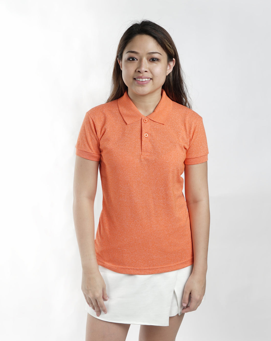 Acid Ponkan Classique Plain Women's Polo Shirt