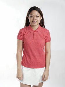 Acid Red Classique Plain Women's Polo Shirt