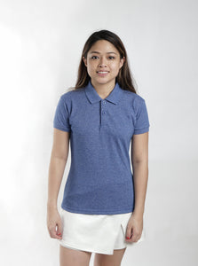 Acid Royal Blue Classique Plain Women's Polo Shirt